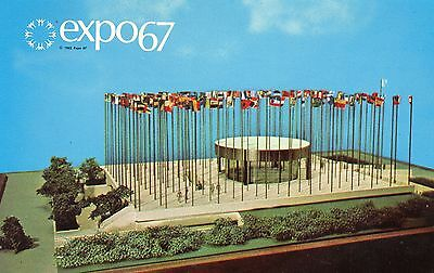 Expo 67 1967 Montreal Expo Pavilion of the United Nations