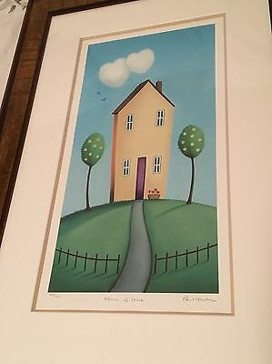 Paul Horton Limited Edition Print 'House Of Love'