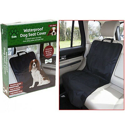 Crufts Waterproof Pet Bucket Seat Cover Dog Car Front Cover Single Protection