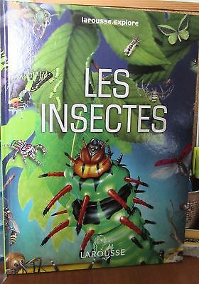 Collection Larousse.explore - Les insectes - Editions France Loisirs