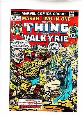 Marvel Two in One 7 Thing and Valkyrie