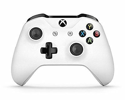 Official Microsoft Xbox One White Controller with 3.5mm Jack **NEW & SEALED**