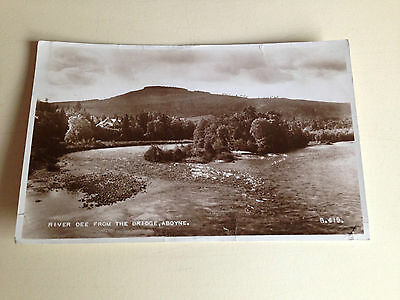 Vintage Postcard: - ABOYNE!  from  THE  RIVER  DEE  -  SCOTLAND   -  1950