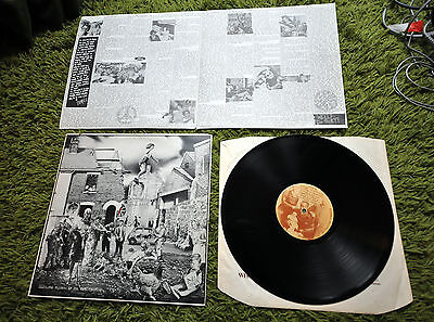 Crass The Feeding of the Five Thousand LP Original Anarcho punk + Insert