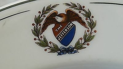 The Jefferson Hotel Peoria Ill. Thebes Eagle on a Shield O.P.Co. 1930
