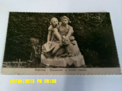 Vintage Postcard - CANARIS BROTHERS MONUMENT - VILA GUILA - PALERMO - ITALY!
