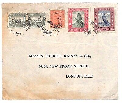 A90 NEPAL Commercial Mail London Faults {samwells-covers}