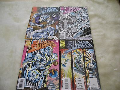 4 Silver Surfer Marvel Comics Issues 111-114