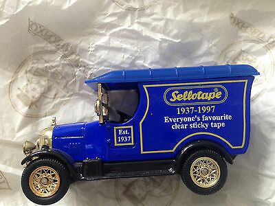 Oxford Die-cast Sellotape Van Limited Edition Number 1626 in original box