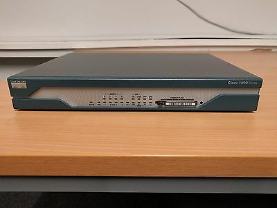 Cisco 1800 Series 1811 8-Port Fast Ethernet Integrated Series Router Flash Drive
