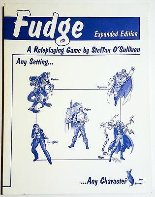 Fudge Expanded Edition Roleplaying Game Rulebook