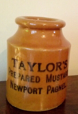 vintage taylors mustard pot newport pagnel nice condition