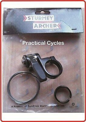Sturmey Archer SLS30-P  3 Speed Gear Shifter SEATPOST fit - RETRO