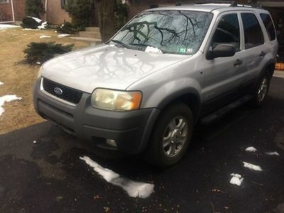 2002 Ford Escape XLT 2002 FORD ESCAPE XLT