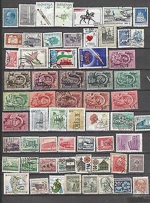 Mixed Eastern Europe, 59 Stamps All Different, Lot 2