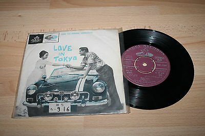 """Love In Tokyo Bollywood Soundtrack 1966 Indian 7"""" Vinyl Ep (Rare)"""