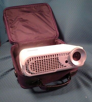 Optoma Gaming Projector With Case And Controls.