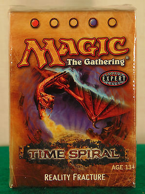 """MTG Time Spiral """"REALITY FRACTURE"""" Theme Deck--Factory Sealed"""