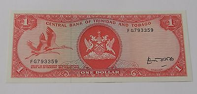 TRINIDAD AND TOBAGO: One Dollar 1964/1977, Unc., SELTEN !!! Fliegende Vögel !!!
