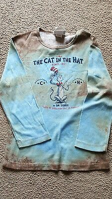 Cat in the Hat by Dr Seuss top with 3/4 length sleeves