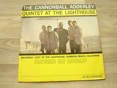jazz LP bop CANNONBALL ADDERLEY *RARE UK STEREO* QUINTET At The Lighthouse 1960