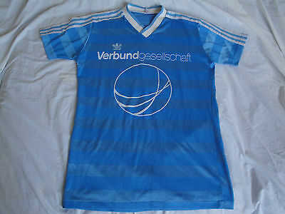 Rare DDR Style #11 Vintage Adidas Football shirt jersey trikot 1980s D(5/6) M