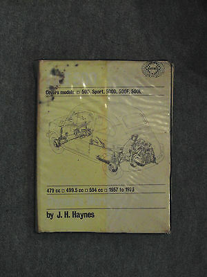 Haynes FIAT 500 1957-73 Workshop Manual 1973