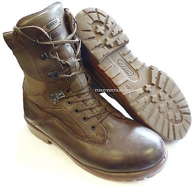British Army - Yds Patrol Brown Boots - Various Sizes - Grade 2 Used