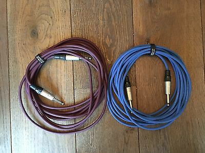 3m Mono Jack to Jack Leads - Guitar Cable