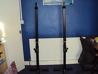 Adjustable Heavy Duty Squat/Bench Stands