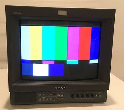 Sony PVM-14L2 Color Video Trinitron Monitor 4:3 or 16:9 Aspect