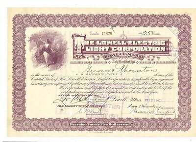 The Lowell Electric Light Corporation 1927