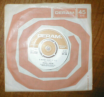 Procol Harum - A Whiter Shade of Pale - 7inch single