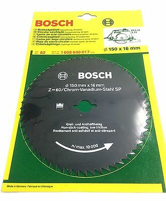 Bosch 150mm circular saw blade 150 x 16 x 60t 1 608 640 017 bosch 150mm circular saw blade 150 x 16 x 60t 1 608 640 017 replacement spare greentooth Image collections