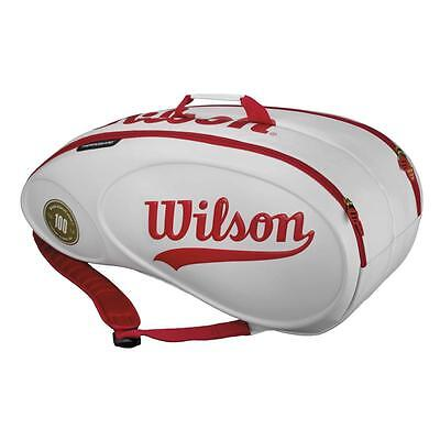 Wilson 100 Year Anniversary Tour Molded 9pk Tennis Bag - RRP: £99.99