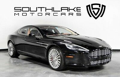 2011 Aston Martin Rapide Base Sedan 4-Door 11 AM Rapide-Rear Seat Ent-Cooled Front Seats-20 Whls w/Graphite Finish-Call!
