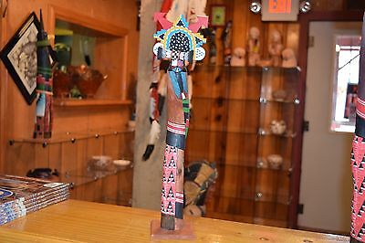 """Superb Water Maiden Carving/roger Pino/fantastic/ 17"""" Tall/free Shipping"""