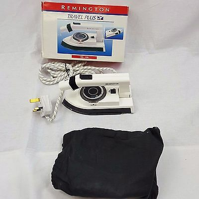 Remington Boxed Dual Voltage 120V-230V Steam Travel Iron Model TL216 with Pouch