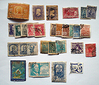 A quantity of largely pre 1940 Brazil stamps
