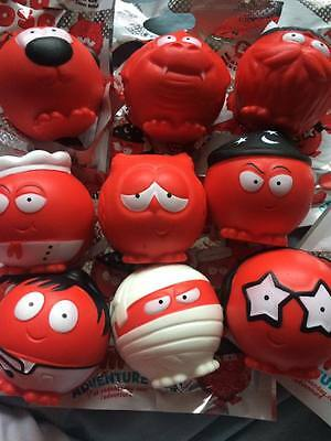 All 9 2017 Red nose day noses Comic relief