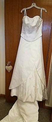 Formal Dress Wedding Promise Homecoming Size 18 Bridal Originals Vintage Lovely