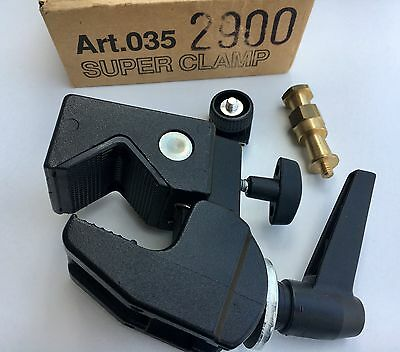 Manfrotto Art.035 Super Clamp - Mint condition!