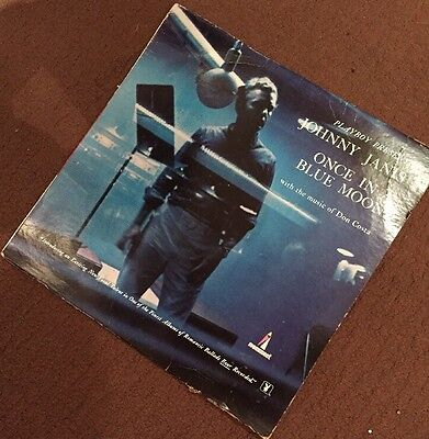 Johnny Janis Vinyl LP 'once In A Blue Moon' Jazz - Playboy