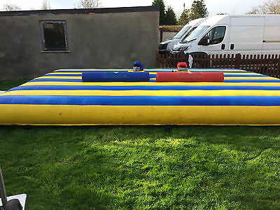 Gladiator Dual Inflatable Joust / Duel Game Complete With 1.5Hp Blower