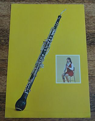 English Horn 1961 Cardboard Poster - Very Colorful