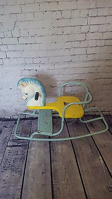 Vintage Retro Triang Rocking Horse  Collectible Toys Games Childrens Kids