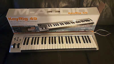 ♥M-AUDIO♥ KEYRIG49 Clavier Maitre Usb 49 Touches