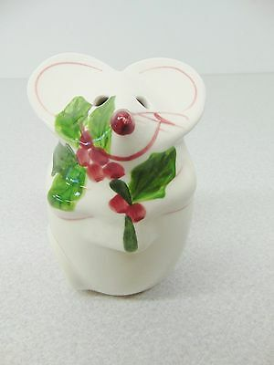 ❤Los Angeles Pottery N. S. Gustin Cheese Mouse 5 1/4 Inches