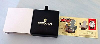 Ltd Edition Guinness  Badge 'suit Of Armour ' - History Of Guinness Advertising