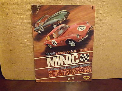 TRIANG MINIC CATALOGUE ..1st EDITION 1966...IN FAIR TO GOOD CONDITION..